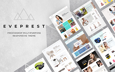 <strong>Eveprest</strong> — Multipurpose PrestaShop Theme with Ready-made Designs
