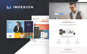 <strong>Imperion</strong> — Multipurpose Corporate WordPress Theme