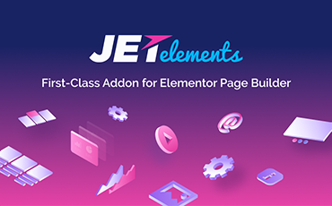 <strong>JetElements</strong> — Addon for Elementor Page Builder WordPress Plugin