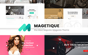 <strong>Magetique</strong> — AMP-Ready Multipurpose Magento 2 Theme