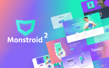 <strong>Monstroid2</strong> — Multipurpose Modular Elementor WordPress Theme