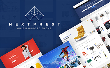 <strong>NextPrest</strong> — Multipurpose Clean Ecommerce Bootstrap PrestaShop Theme