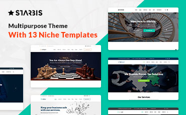 <strong>Starbis</strong> — Business Multipurpose Bootstrap 4 Website Template