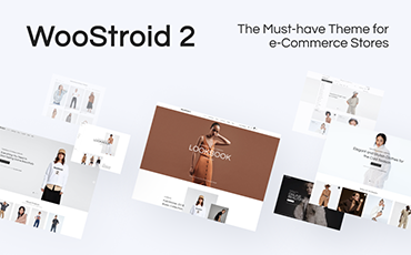 <strong>Woostroid2</strong> — Multipurpose WooCommerce Elementor Theme